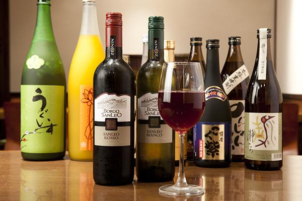 ワイン 赤・白 (ボトル)